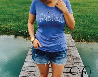 Hitched Women's Fitted T-Shirt