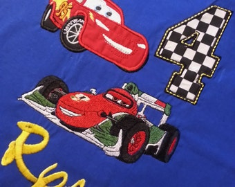 Add a MEDIUM/LARGE Car Character to Any Shirt.