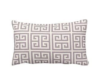 Purple Pillow Covers Purple Throw Pillow Covers Greek Key Pillow Lavender Pillows Violet Pillows Purple Lumbar Pillow Decorative Pillows