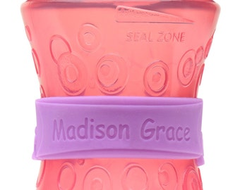 Personalized Sippy Cup & Baby Bottle Labels (2 PACK)