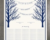 Wedding Certificate – Pleasant Pines - Fits Standard Frame Size