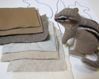 PDF Sewing Pattern for Chipmunk Stuffed Animal