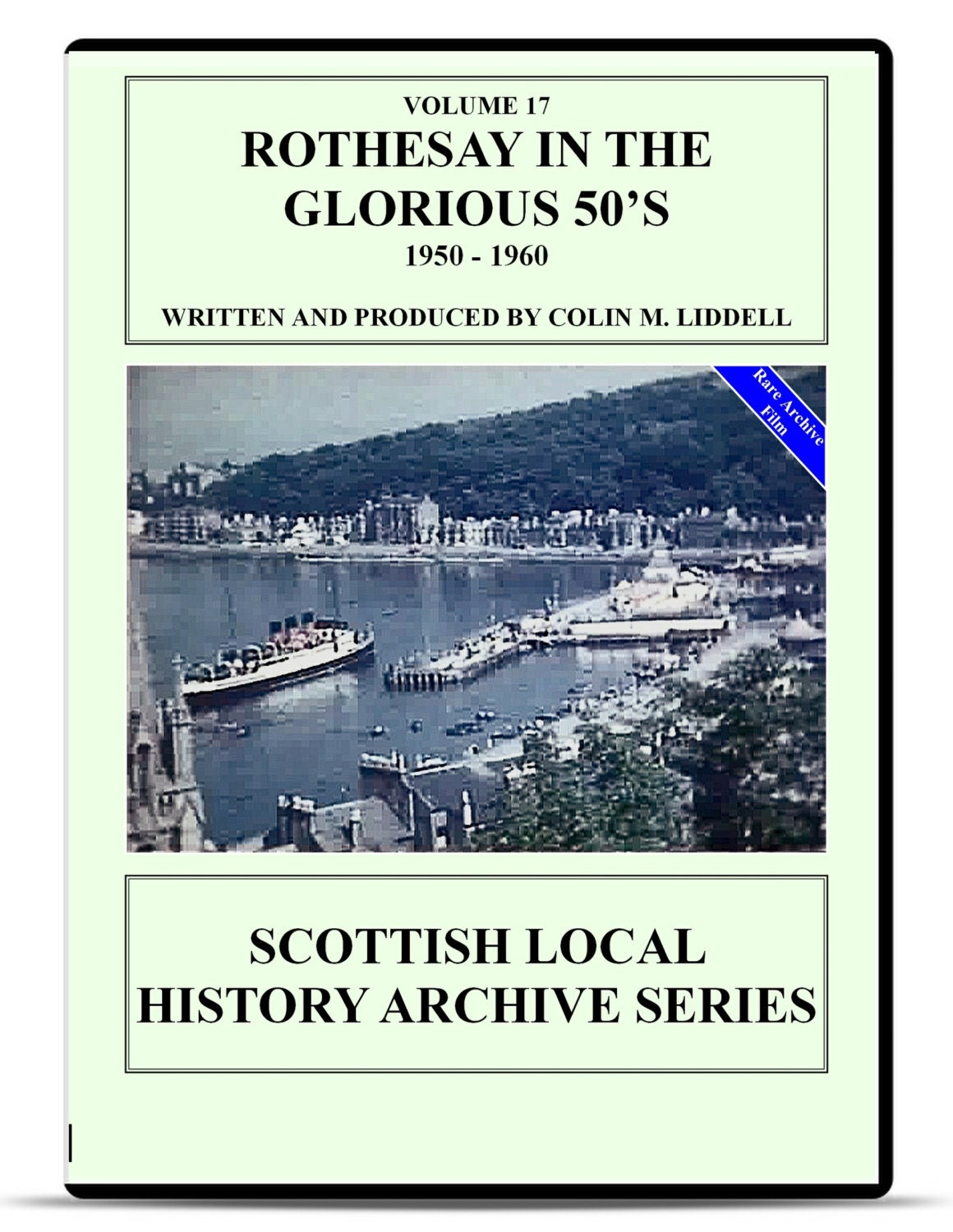 dvd rothesay isle of bute in the glorious 50s rothesay isle