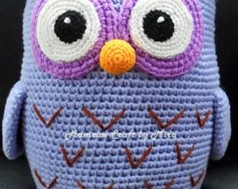 Owl - Amigurumi Crochet Pattern / PDF e-Book