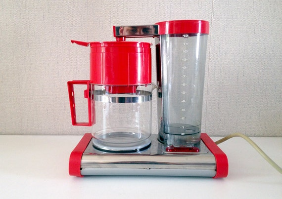 Coffee Maker Made In France : Vintage coffee filter machine Moulinex Made in France