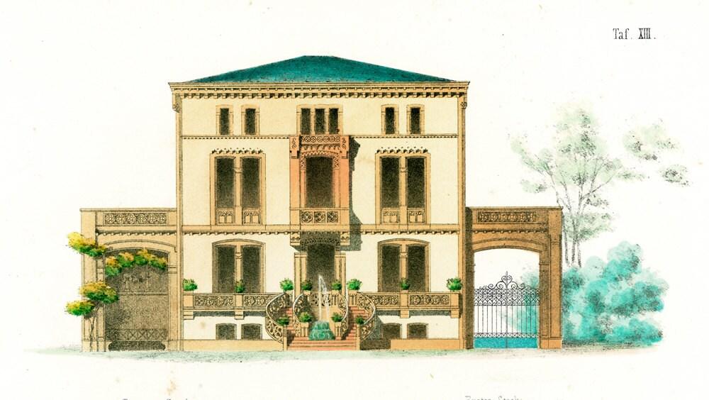 1854 town house blueprints architectural details antique townhouse plans house style pictures