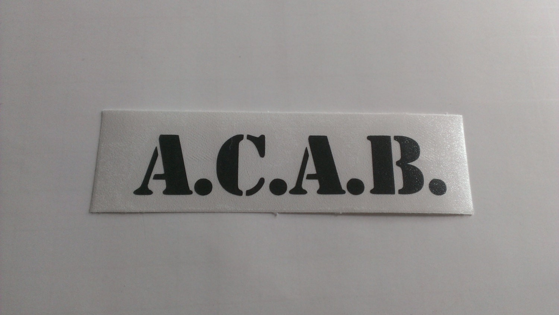 ACAB Vinyl Decal