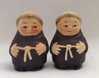 Goebel monk salt and pepper shakers