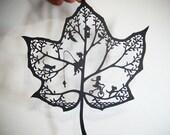 Original hand-cut paper