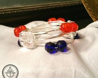 Auburn  Bangled bracelet set