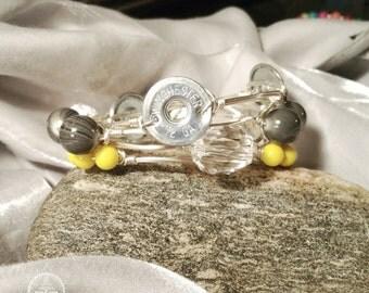 12 Gauge bangled bracelet set