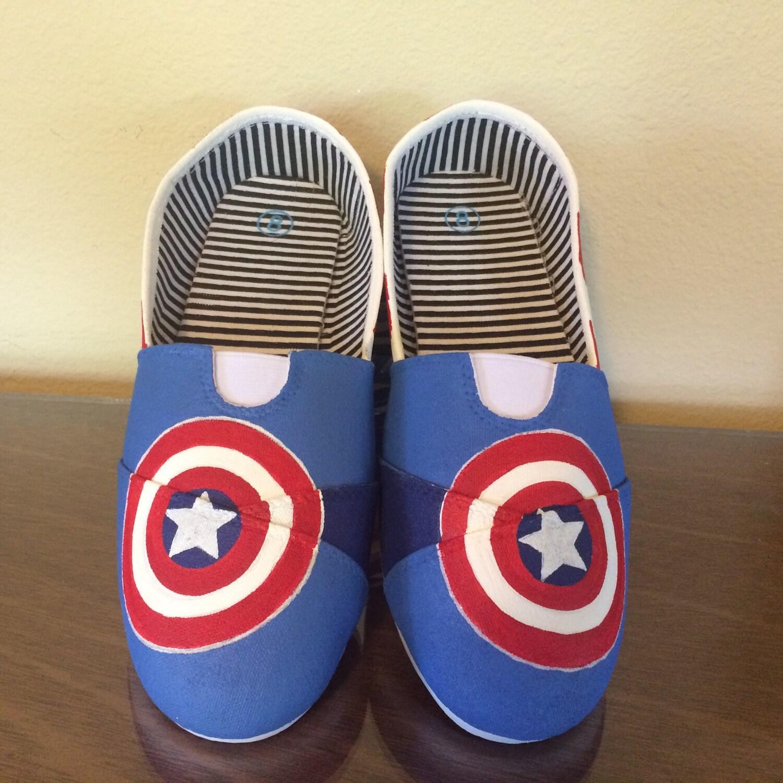 captain america theme womens shoes. Black Bedroom Furniture Sets. Home Design Ideas