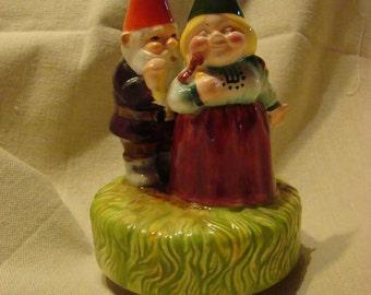 Vintage Gorham Gnome Music Box