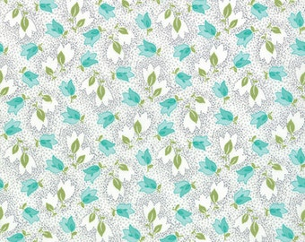 Color Me Happy Gray - by V and Co. for Moda - 1 yard cut 10821 17