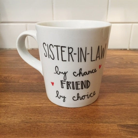Wedding Gift For Sister In Law : ... mug // gift for sister in law // new sister // wedding gift
