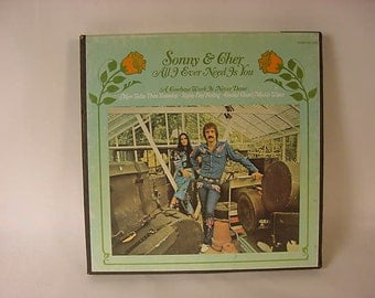 Vintage Old Collectible * Reel to Reel Tape Recording * Sonny & Cher * All I Ever Need Is You