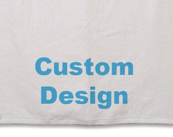 Beach Towel // Personalized // 30inx60in