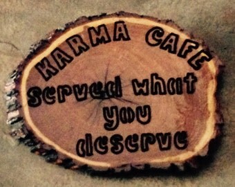 Mesquite Wooden Plaques with Catchy Sayings