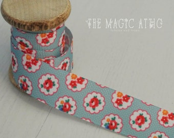 Ditsy Floral ribbon by the metre