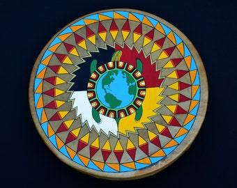 Native American Turtle Drum
