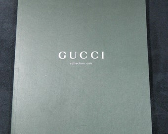 GUCCI Leather Collection Catalogue 1995 | Fashion Paris France