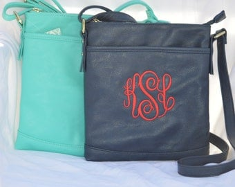 Cross body purse monogrammed