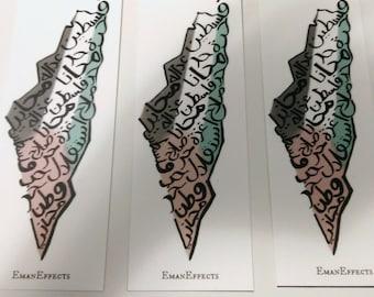 Palestine Bookmark (Flag, Gaza, Country, Books)