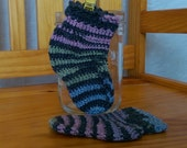 Crocheted Baby Socks Crochet Baby Booties 3-6 months