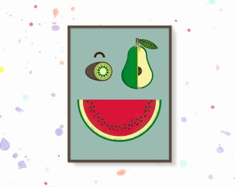 Watermelon poster   Etsy
