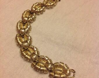 Vintage Lisner chunk bracelet - silver tone - Vintage Lisner bracelet - Lisner jewelry - Vintage Lisner costume jewelry bracelet - Bridal