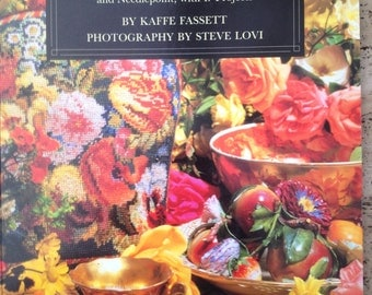 KAFFE FASSETT's Glorious Colour: Sources of Inspiration for Knitting and Needlepoint, with 17 Projects