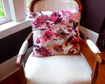 Pink Floral Pillows