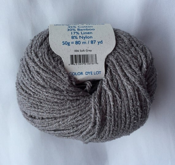 Knitting Fever Inc : Bamboucle soft grey yarn by elsebeth lavold knitting