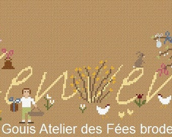 Bienvenue Temps de Pâques/Easter Welcome