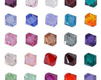 4mm Swarovski Bicone Beads - choose color - 144 pcs. (1 gross) PART 1