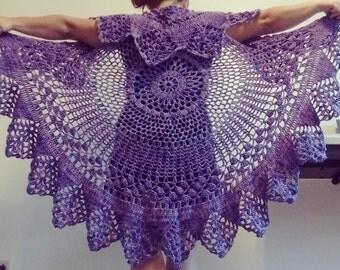 Bohemian Crocheted Vest