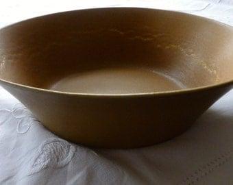 Bennington Potters Tawny Mustard Bowl