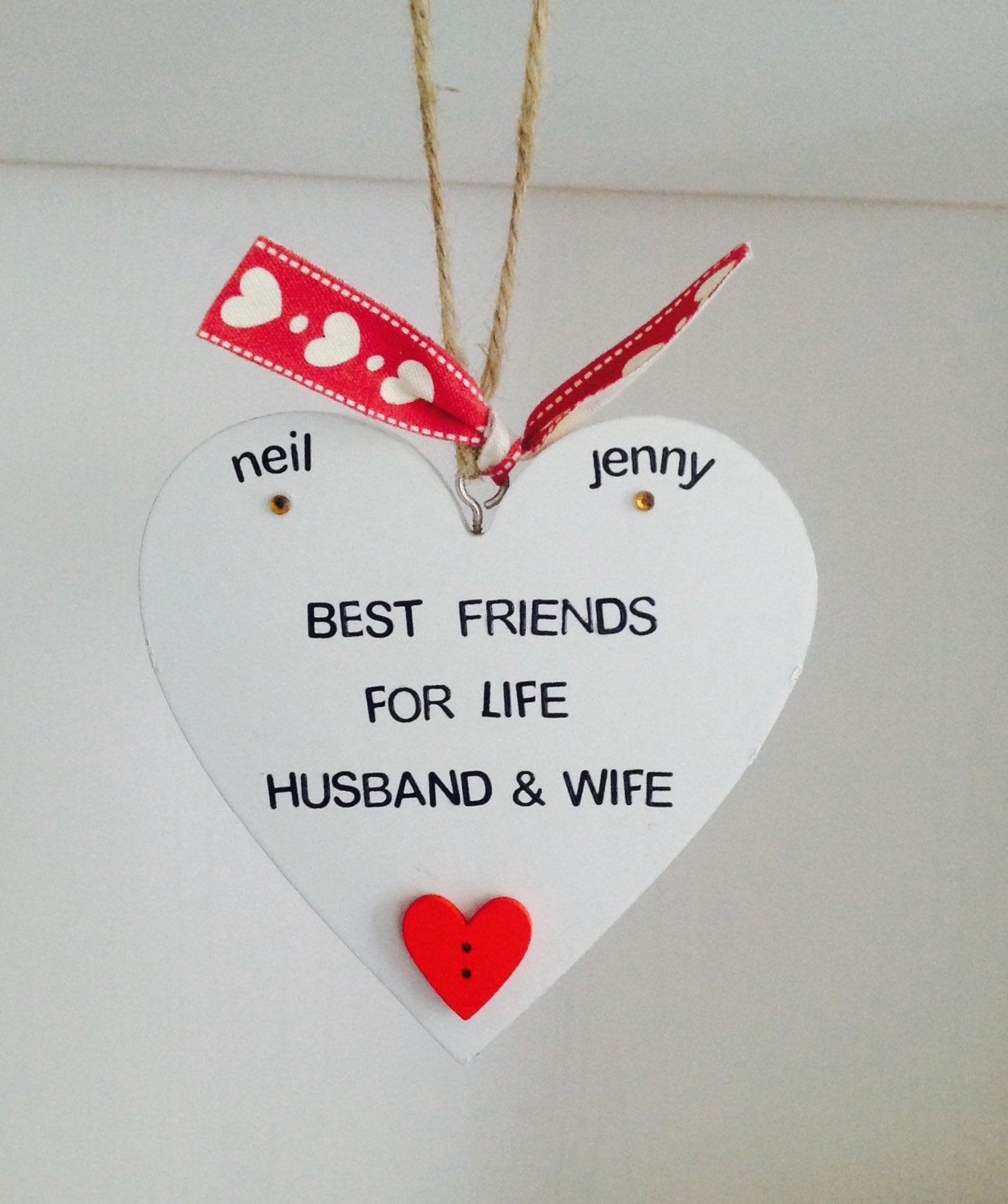 Best Husband And Wife: Best Friends For Life Husband & Wife By Happyheartsdesignsuk