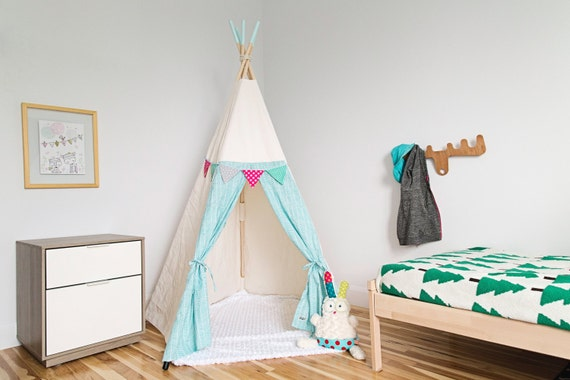 Tipi pour enfant cachette cabane tente par babillesetbabioles - Tipi pour chambre ...