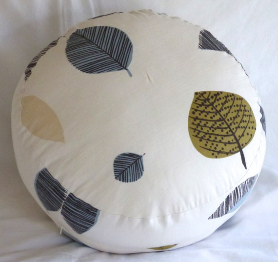 Floor Pillows With Washable Covers : 26 round floor pouf pillow cover made of by seriouslyhappypillow