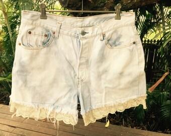 Vintage 80s 501 Levi's shorts