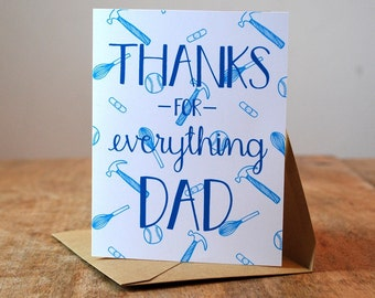 Thanks for Everything, Dad - Father's Day Card