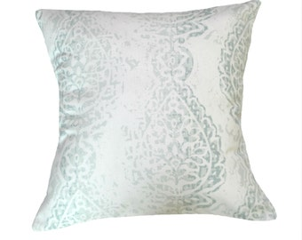 """SALE! Pillow Cover in Premier Prints """"Manchester"""" 18"""" X 18"""" Throw Pillow Cover - Decorative Pillow"""