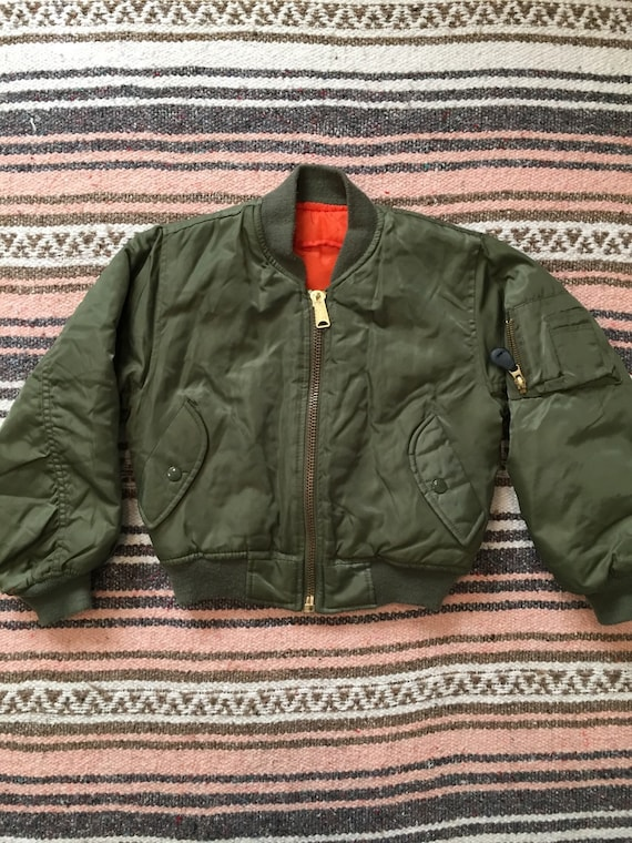 Toddler Sized MA-1 Flight jacket by Rothco