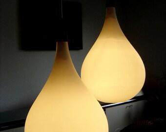 Rare Chandelier Pendant Lamp Uno & Östen Kristiansson, Luxus Mid Century Modern