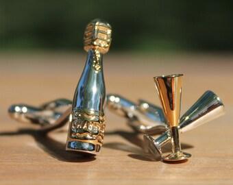 Champagne Celebration Cufflinks
