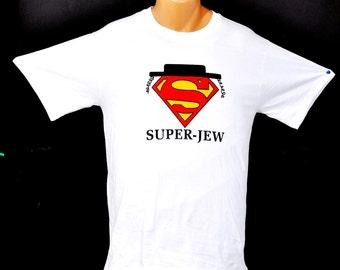 Super- Jew T-shirts High Quality 100% Cotton