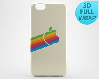 Retro Apple Logo Case for iPhone 4 4s 5 5s 5c 6 6s Plus iPad 2 3 4 Air 1 Mini