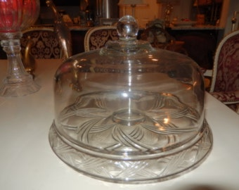 VINTAGE CAKE STAND with Cover