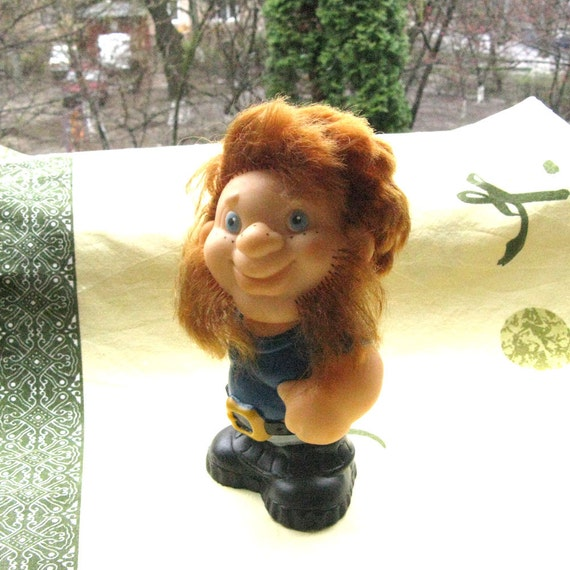 1980s Smiling Man Toy Toy For Boys Vintage Home D Cor Shelf